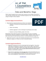 summary sheet of castration risks and benefits