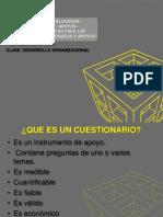 Desorrollo Organizacional Cuestionarios Bloqueos Apoyos