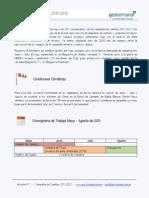 Reporte N 1 - Campaña 2011-2012