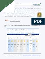Reporte N 2 - Campaña 2011-2012