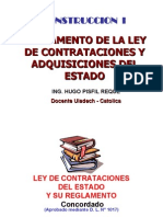 Ley de Contrataciones - Osce