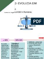 Subiect Istoric EIM