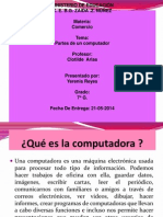 partes de la computadora en power point