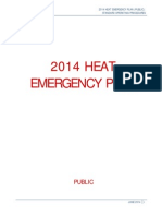 2014 Heat Emergency Plan