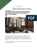 16-06-2014 Azteca Noticias - Aprueban calendario para discusión de reforma energética.