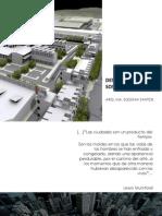 1. Desarrollo Sustentable y Ciudad