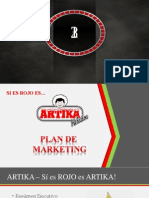 Plan de Marketing Artika