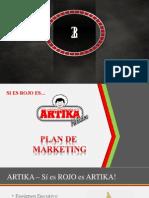 Plan de Marketing Artika