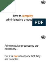 UNCTAD 10 Principles to Simplify Administrative Procedures 18 June2014