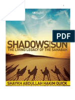 The Living Legacy of the Ṣaḥābah (Shadows in the Sun)