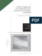 Núcleos de Significação como Instrumento para a Apreensão da Constituição dos Sentidos de Wanda Aguiar (Ia)