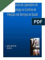 A Importância Do Laboratorio de Microbiologia Jose Carlos Amorim
