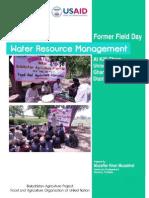 Farmers Field Day Report District Musakhel Balochistan Pakistan