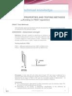 Adhesive Properties Tests