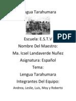 Lengua Tarahumara