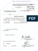 Rahatul Khan Criminal Complaint