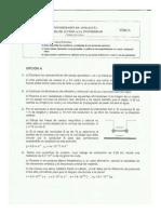 Selectividad física Andalucía 2014 resuelta - Opción A