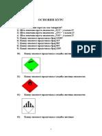 Katalog Ispitnih Pitanja - Osnovna Obuka