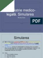 Psihiatrie, simulare