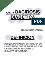 Cetoacidosis Diabetica. Enfermeria Gral II