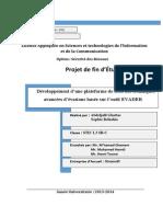 Plateforme de Tests Des Techniques d'Évasion Avancées - AETs - EVADER