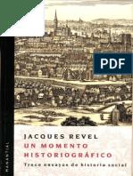 J Revel, Un Momento Historiográfico (1)