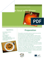 pumpkin soup with ginger final