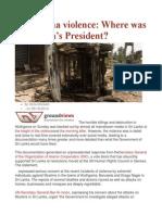 Aluthgama Violence Where Was Sri Lanka's President