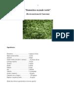 Romeritos en Mole Verde