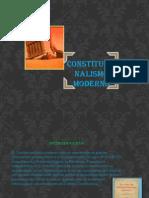 Derecho Costitucional Moderno