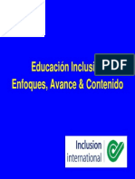 Enfoque Economico de La Inclusion Educativa