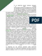Epistemologia de La Didáctica Delas Ciencias Sociales