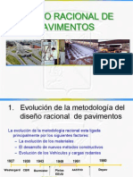 Diseño Racional de Pavimentos