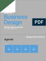Design Echos School - Business Design - aula 4