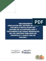 Termino de Referencia Agua y Desague de Santa Ana de Aucara y Chacralla
