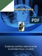 Evidencia Científica Sobre El Rol de La Actividad Física y La Salud