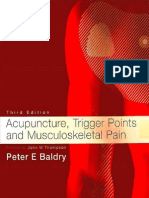 Acupuncture, Trigger Points and Musculoskeletal Pain - Peter E. Baldry