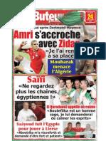 LE BUTEUR PDF du 24/11/2009