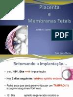 Placenta e Membranas Fetais (3) 2013.1
