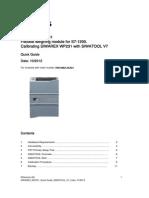 Balanza Colimatic1 Siwarex Wp231 Quick Guide Siwatool v1 5