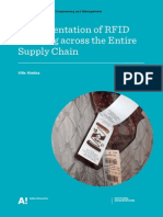 Implementation of RFID Tracking Across the Entire Supply Chain