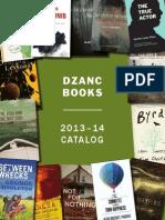 Dzanc 2014 Catalog