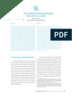 (2012) Transacciones Internacionales de La GATT a La OMC