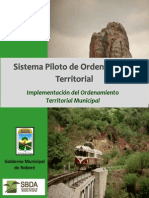 Sistema Piloto de Ordenamiento Territorial Municipal para Roboré