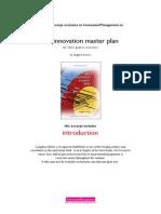 Innovation Master Plan Intro