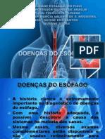 Doençasa Do Esofago
