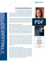 Data Quality Enterprise Architecture