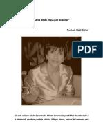 Entrevista Por Luis Raúl Calvo Milagro Haack