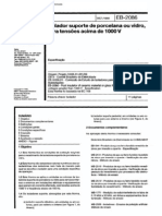 NBR 11790_90 (EB-2086) - Isolador Suporte de Porcelana Ou Vidro, Para Tensões Acima de 1000V - 11pag