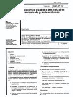 NBR 11818_91 (EB-2117) - CANC - Recipientes Plásticos Para Soluções Parenterais de Grandes Volumes - 11pag